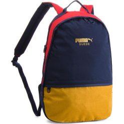Plecak PUMA - Suede Backpack 075087 04 Granatowy Kolorowy. Niebieskie plecaki męskie Puma, w kolorowe wzory, z materiału, sportowe. Za 219,00 zł.