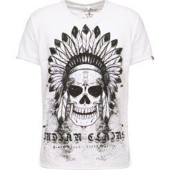 T-shirty męskie z nadrukiem: Key Largo INDIAN Tshirt z nadrukiem offwhite