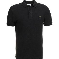 Lacoste SHORTSLEEVE SLIM FIT Koszulka polo grey. Szare koszulki polo marki Lacoste, z bawełny. Za 379,00 zł.