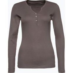 Brookshire - Damska koszulka z długim rękawem, szary. Czarne t-shirty damskie marki brookshire, m, w paski, z dżerseju. Za 99,95 zł.