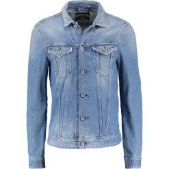 Replay Kurtka jeansowa blue denim. Niebieskie kurtki damskie jeansowe marki Replay. Za 749,00 zł.