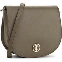 Torebki klasyczne damskie: Torebka TOMMY HILFIGER - Honey Saddle Bag AW0AW04640  310