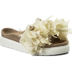 Klapki damskie: Klapki INUIKII - Pearl Feathers 3070  White