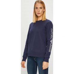 Emporio Armani - Bluza. Szare bluzy rozpinane damskie Emporio Armani, l, z bawełny, bez kaptura. W wyprzedaży za 319,90 zł.