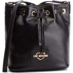 Torebka LOVE MOSCHINO - JC4065PP17LG0000 Nero. Czarne torebki worki Love Moschino, ze skóry ekologicznej. Za 879,00 zł.