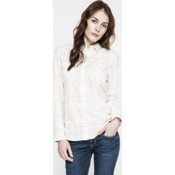Levi's - Koszula. Brązowe koszule damskie w kratkę marki Levi's®, m, z bawełny, casualowe, z długim rękawem. W wyprzedaży za 199,90 zł.