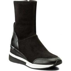 Botki MICHAEL KORS - Ace Stretchlow 43F7ACFE5S Black. Czarne botki damskie skórzane marki Michael Kors. W wyprzedaży za 499,00 zł.