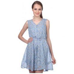 Brave Soul Sukienka Damska Trudy M Niebieski. Czarne sukienki marki Fille Du Couturier. W wyprzedaży za 109,00 zł.