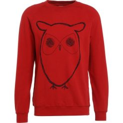 Bejsbolówki męskie: Knowledge Cotton Apparel BIG OWL Bluza pompeain red