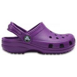 Crocs Buty Classic Clog Kids Amethyst 24.5 Fioletowe. Fioletowe buciki niemowlęce Crocs, na lato, z materiału. W wyprzedaży za 119,00 zł.