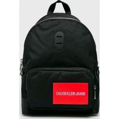 Calvin Klein Jeans - Plecak. Czarne plecaki męskie Calvin Klein Jeans, z jeansu. Za 399,90 zł.