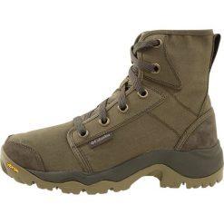 Columbia CAMDEN CHUKKA Buty trekkingowe nori/grey. Zielone buty trekkingowe męskie Columbia, z materiału, outdoorowe. Za 529,00 zł.