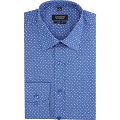 Koszula versone 2842e długi rękaw slim fit granatowy. Niebieskie koszule męskie slim Recman, m, z długim rękawem. Za 149,00 zł.