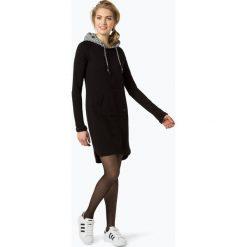 Ragwear - Sukienka damska – Bess, czarny. Czarne sukienki z falbanami marki Ragwear, l, z kapturem. Za 309,95 zł.