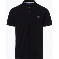 Gant - Męska koszulka polo – Rugger, czarny. Czarne koszulki polo GANT, m, prążkowane. Za 299,95 zł.