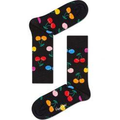 Happy Socks - Skarpetki Cherry. Czerwone skarpetki damskie Happy Socks, z bawełny. Za 39,90 zł.
