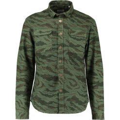 Koszule męskie na spinki: Shine Original MILITARY Koszula grass green