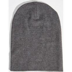 Czapka - Szary. Szare czapki zimowe damskie Sinsay. Za 14,99 zł.