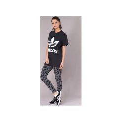 T-shirty z krótkim rękawem adidas  BIG TREFOIL TEE. Czarne t-shirty damskie Adidas. Za 134,10 zł.