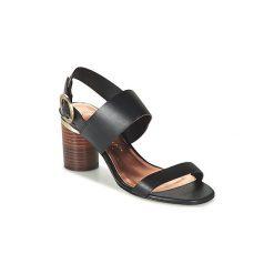 Sandały Ted Baker  AZMARA. Czarne sandały damskie marki Ted Baker, z materiału. Za 487,20 zł.