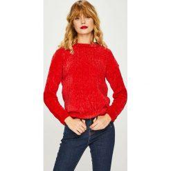 Medicine - Sweter Basic. Szare swetry klasyczne damskie MEDICINE, l, z dzianiny, z okrągłym kołnierzem. Za 119,90 zł.