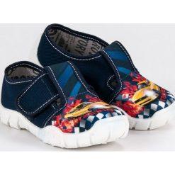 Buciki niemowlęce chłopięce: RAWEKS NIA domowe buty racing