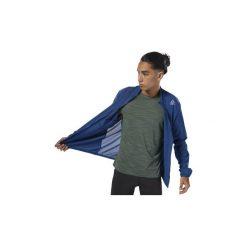 Bluzy dresowe Reebok Sport  Kurtka Running Woven. Niebieskie kurtki sportowe męskie Reebok Sport, l, z dresówki. Za 229,00 zł.