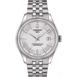 RABAT ZEGAREK TISSOT Ballade Gent T108.408.11.037.00. Szare zegarki męskie TISSOT, ze stali. W wyprzedaży za 3520,00 zł.
