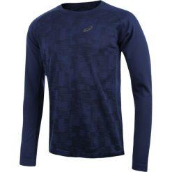 T-shirty męskie: koszulka do biegania męska ASICS LONGSLEEVE SEAMLESS TOP / 124753-8052 – koszulka do biegania męska ASICS LONGSLEEVE SEAMLESS TOP