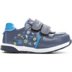 Niebieskie Buty Sportowe Set Sail. Niebieskie buty sportowe chłopięce Born2be, z materiału, z okrągłym noskiem. Za 69,99 zł.