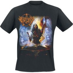 Burning Witches Hexenhammer T-Shirt czarny. Czarne t-shirty męskie Burning Witches, xl. Za 74,90 zł.