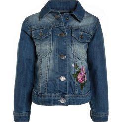 Blue Seven Kurtka jeansowa jeansblau. Niebieskie kurtki dziewczęce przeciwdeszczowe Blue Seven, z bawełny. Za 149,00 zł.