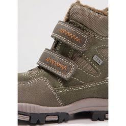 Lurchi TIMOTEX Śniegowce olive. Czarne buty zimowe chłopięce marki Lurchi, z materiału. W wyprzedaży za 147,95 zł.