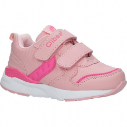 Różowe buty sportowe na rzepy Casu F-700. Czerwone buciki niemowlęce Casu, na rzepy. Za 59,99 zł.