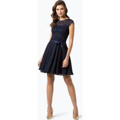 Swing - Damska sukienka wieczorowa, niebieski. Niebieskie sukienki balowe Swing, z koronki. Za 549,95 zł.