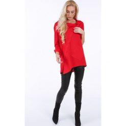 Koszula zapinana na ukos w kolorze czerwonym 0216. Czarne koszule damskie marki Fasardi, m, z dresówki. Za 149,00 zł.