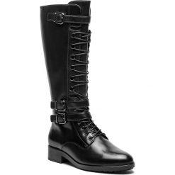 Kozaki HÖGL - 6-100643 Black 0100. Czarne buty zimowe damskie marki Kazar, ze skóry, przed kolano, na wysokim obcasie, na obcasie. Za 1039,00 zł.