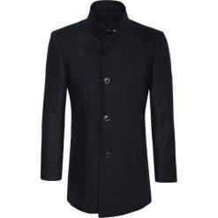Płaszcz FLORIANO 15-26WK. Czarne płaszcze na zamek męskie Giacomo Conti, m, z tkaniny, klasyczne. Za 999,00 zł.
