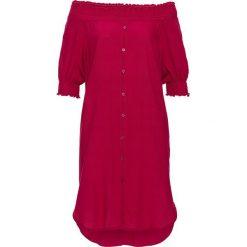 """Sukienki hiszpanki: Sukienka """"carmen"""" bonprix ciemnoróżowy"""
