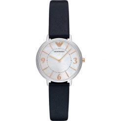 Emporio Armani Zegarek blau. Niebieskie zegarki męskie Emporio Armani. W wyprzedaży za 650,30 zł.