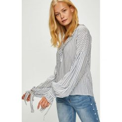 Trendyol - Bluzka. Szare bluzki z odkrytymi ramionami Trendyol, z materiału. Za 89,90 zł.