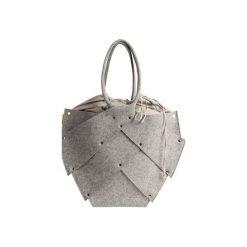BEETLE torba. Szare torebki klasyczne damskie Boogie, melanż, z bawełny. Za 430,00 zł.