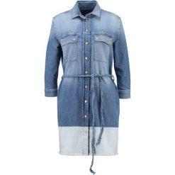 Sukienki hiszpanki: 7 for all mankind Sukienka jeansowa twill light