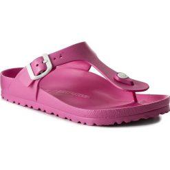 Chodaki damskie: Japonki BIRKENSTOCK - Gizeh 0128341  Neon Pink