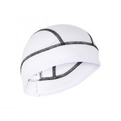 Czapka Pod Kask Na Rower 700 Aquafreeze. Białe czapki męskie B'TWIN, z materiału. Za 29,99 zł.