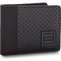 Duży Portfel Męski HERSCHEL - Edward 10365-01828 Black. Czarne portfele męskie marki Herschel, z materiału. W wyprzedaży za 129,00 zł.