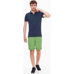 Koszulki polo: T-SHIRT MĘSKI POLO Z WYPUKŁYM NADRUKIEM