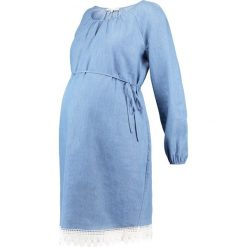 Sukienki hiszpanki: Anna Field MAMA Sukienka jeansowa blue denim