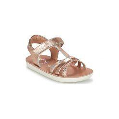 Sandały Dziecko  Shoo Pom  GOA SALOME. Żółte sandały dziewczęce marki Shoo Pom. Za 195,30 zł.