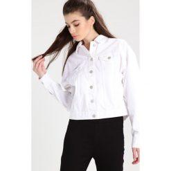 Bomberki damskie: Brooklyn's Own by Rocawear Kurtka jeansowa bright white